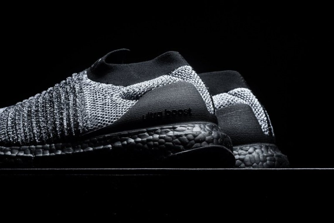 22573fad8ab3d0 adidas UltraBOOST Laceless Black Grey-White    Available Now
