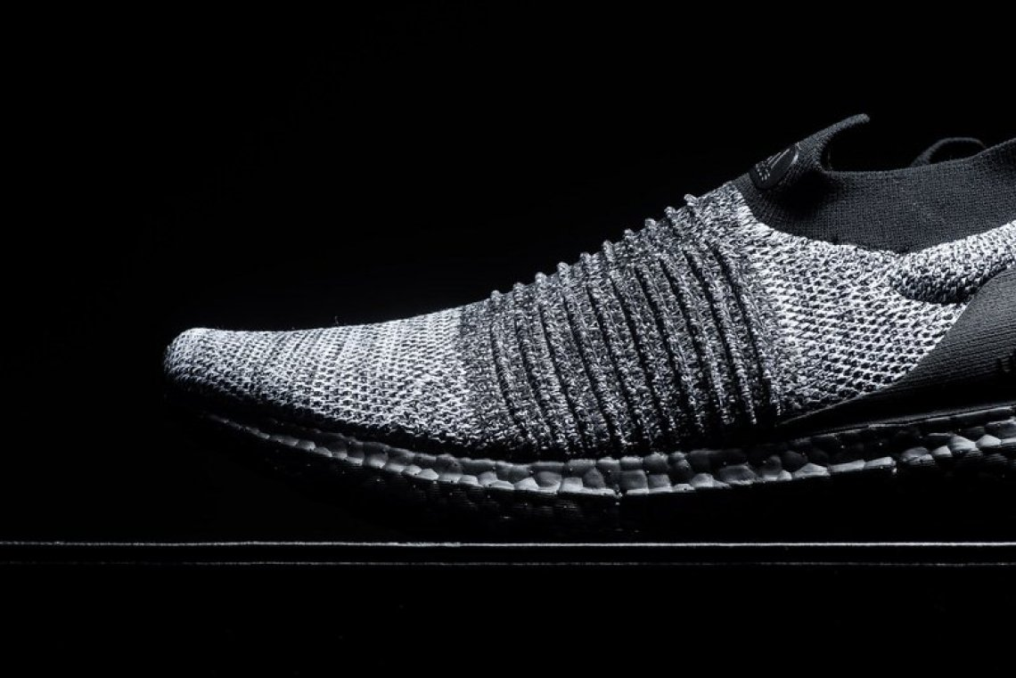 0867d89dd adidas UltraBOOST Laceless Black Grey-White    Available Now