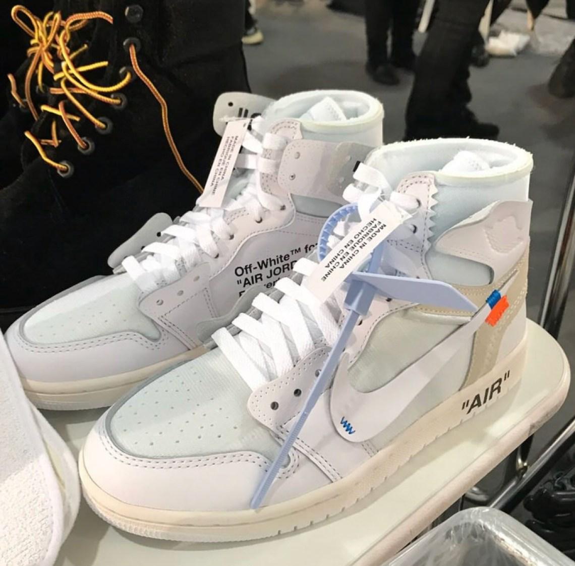 new style b94e0 10d7b Off-White x Air Jordan 1 2018 | Nice Kicks