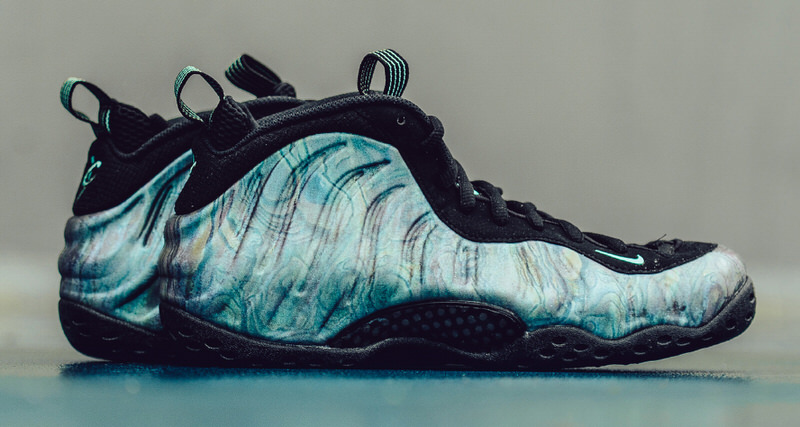 "3b44f333b57bb Nike Air Foamposite One ""Abalone"" Drops This Week"