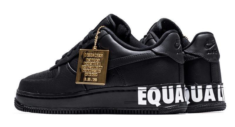 Nike Air Force 1 Bajo De Cuero Negro Para Para Para Barato 554f39