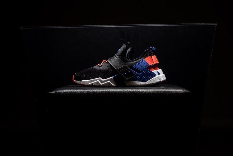 Nike Air Huarache Drift \u201cBlack/Rush Violet/Rush Orange\u201d