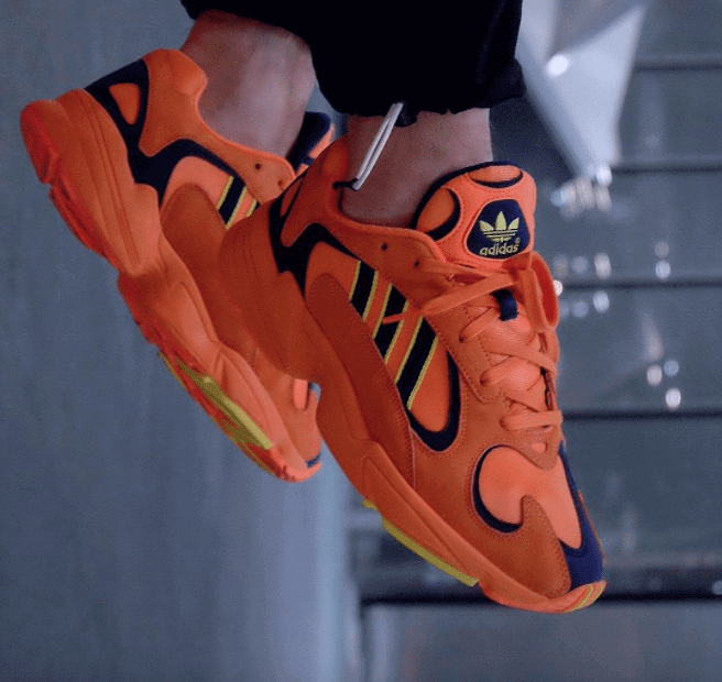 adidas Yung 1 Appears in Orange Colorway
