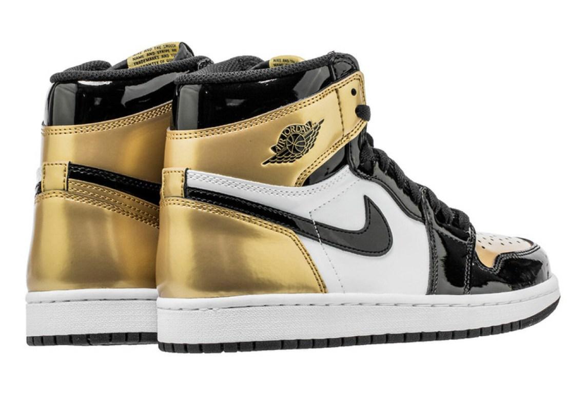 """5180bece45128e Air Jordan 1 """"Gold Toe"""" Air Jordan 1"""