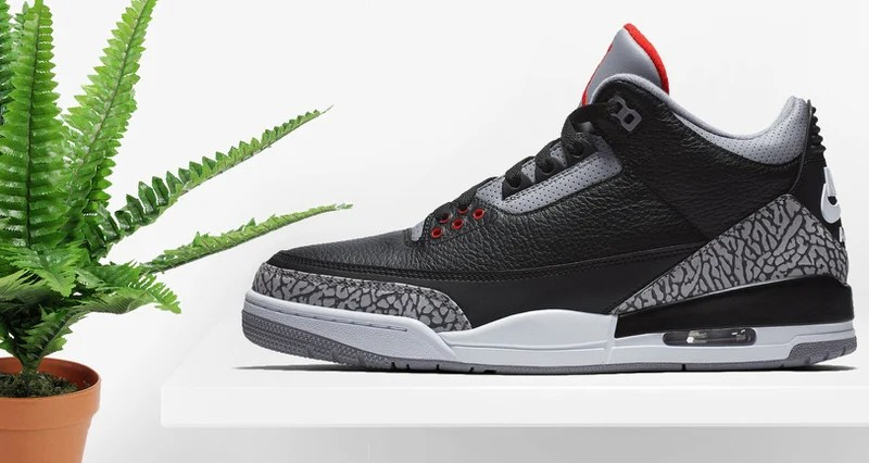 Air Jordan 3 Black Cement 30th Anniversary    Release Date 23b57c1e6