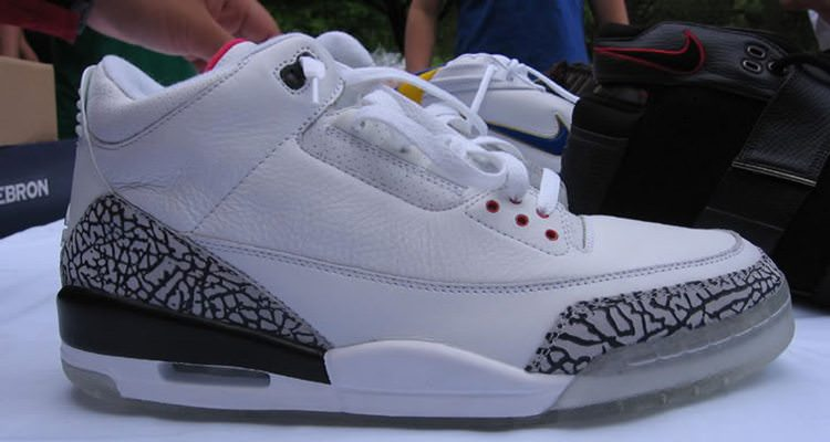 "Air Jordan 3 ""Clear Sole"" Sample"