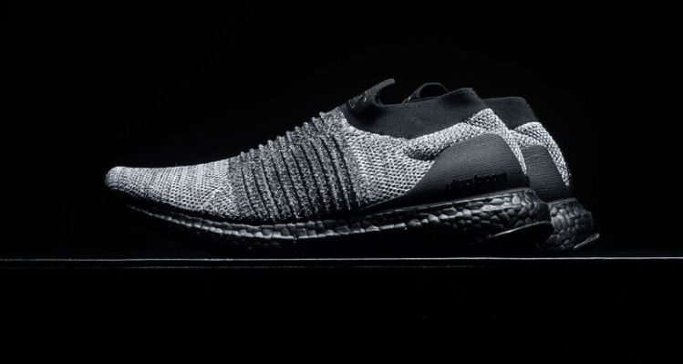 c99c1e579 adidas UltraBOOST Laceless Black Grey-White    Available Now