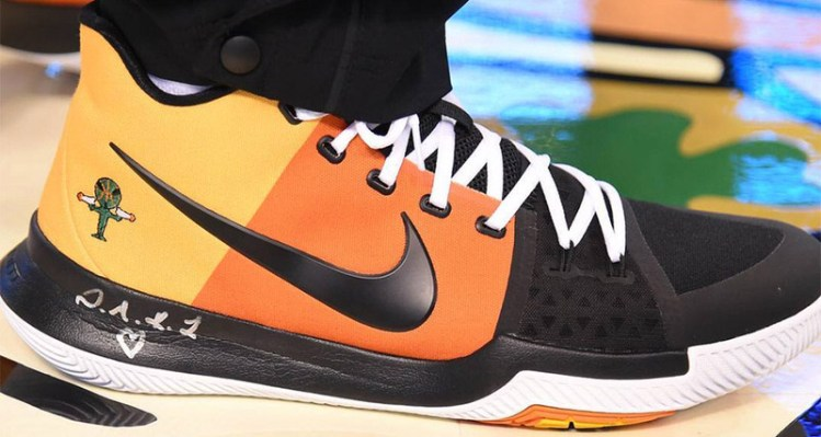 "Nike Kyrie 3 ""Rayguns"" Releasing in Boston 7095d7221"