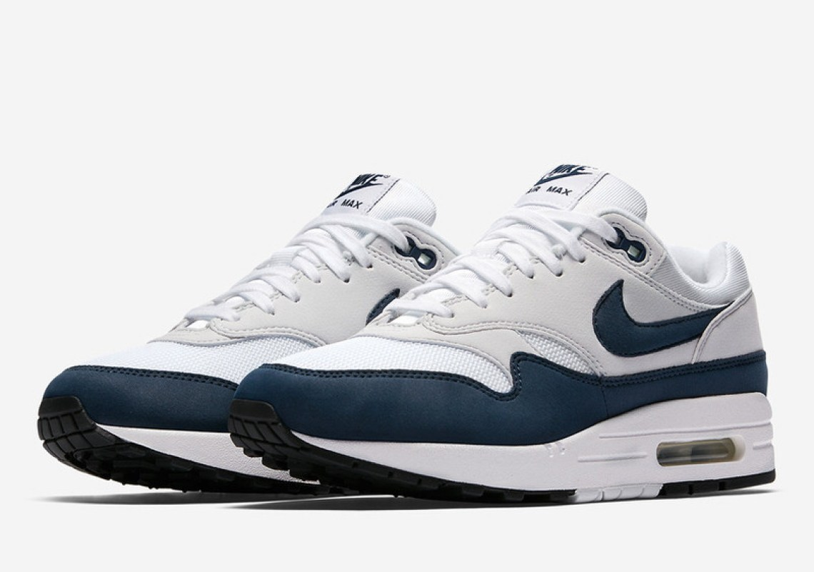Nike Air Max 1 White/Obsidian