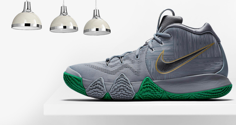 "3e62efbdcbf5 Nike Kyrie 4 ""Parquet"" Honors the Celtics Famed Floors"