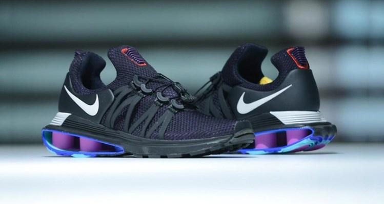 c6b849a8f4f213 Nike Shox Gravity Black Purple