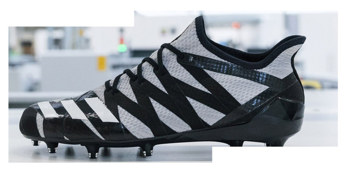 Philadelphia Eagles Football Cleats by Adidas SpeedFactory AM4MN
