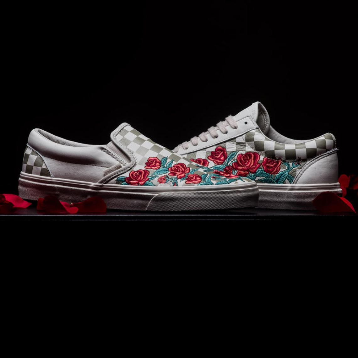 """Vans Classic Slip DX """"Rose Embroidery""""    Available Now  ffa19e665"""