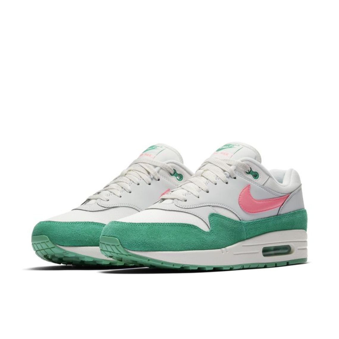 nike air max 1 pinkgreen spring 2018 nice kicks