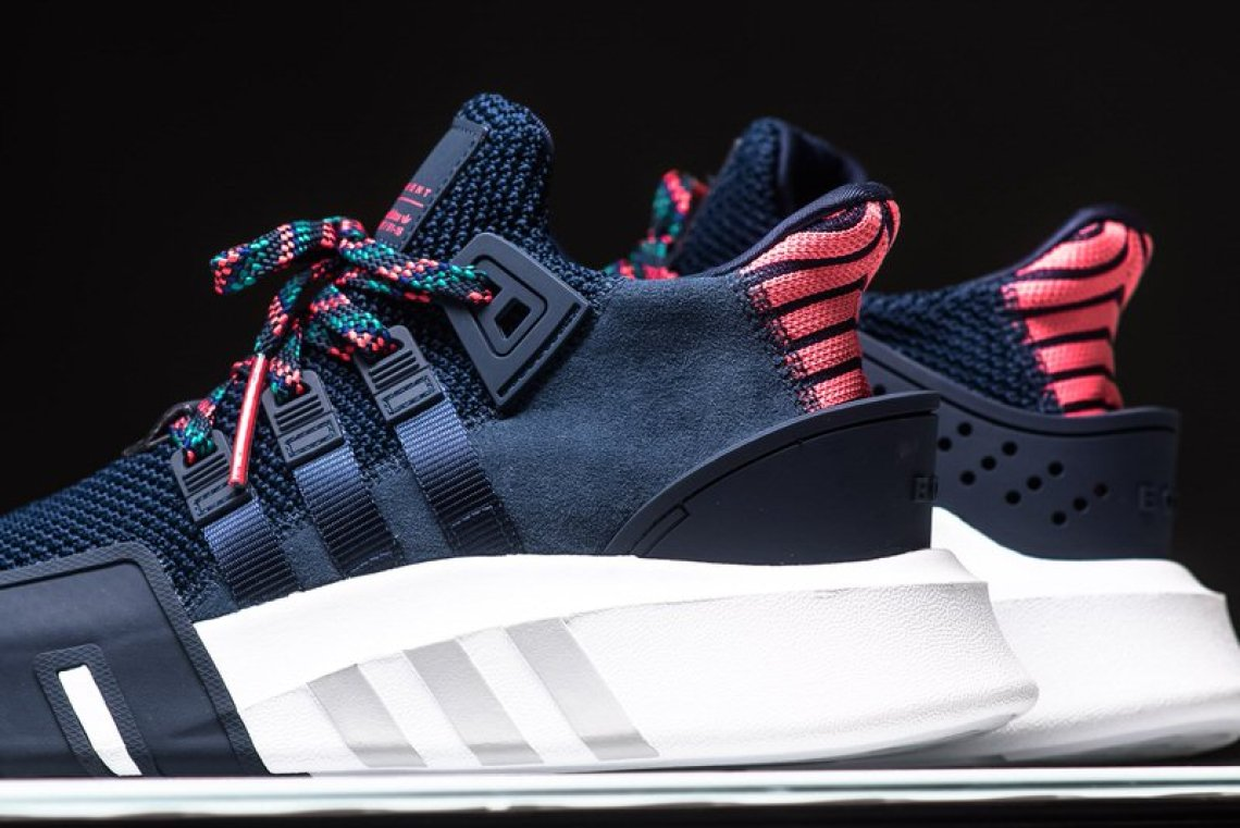 83e52d8406c867 adidas EQT Basketball ADV Navy Real Coral    Available Now