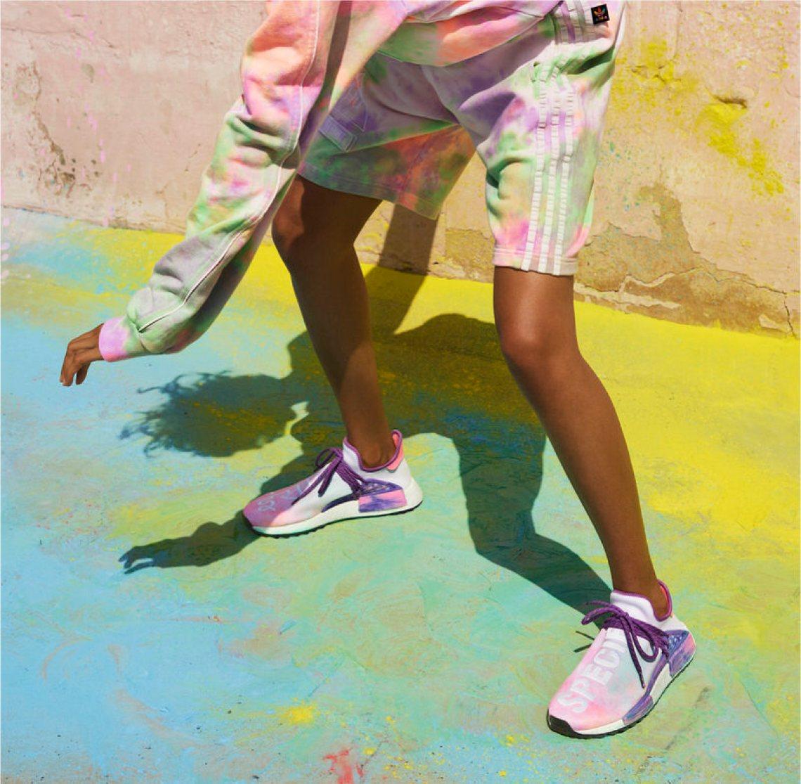 """Pharrell x adidas Hu Holi """"Powder Dye"""""""