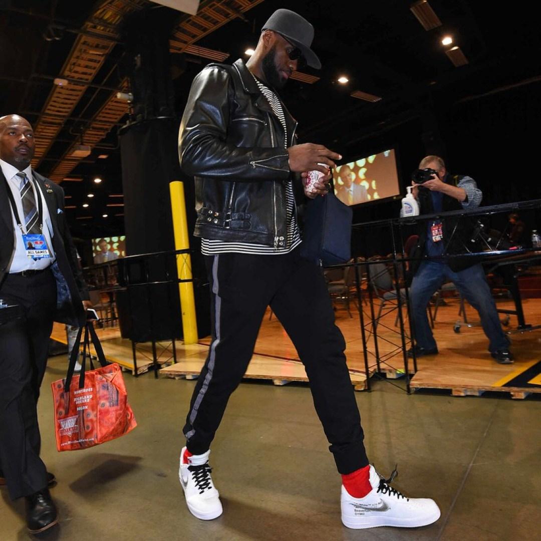 Lebron James Debuts Collaborative John Elliott X Nike
