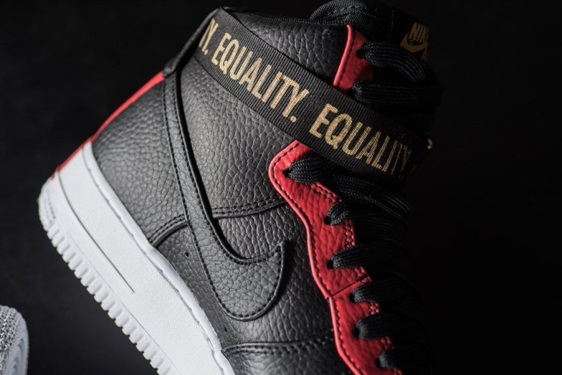 "d492d5f9a2a Nike Air Force 1 High ""BHM""    Release Date"