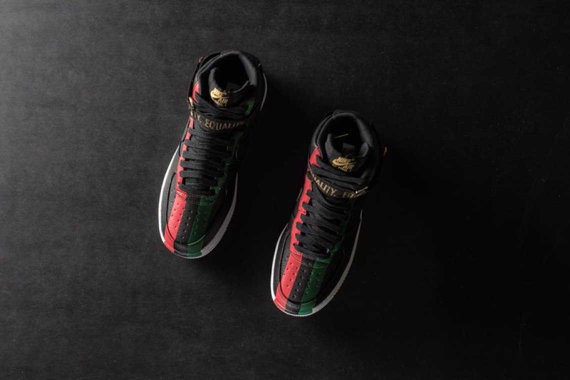 """outlet store 79406 7f6b8 ... Nike Air Force 1 High """"BHM"""" ..."""