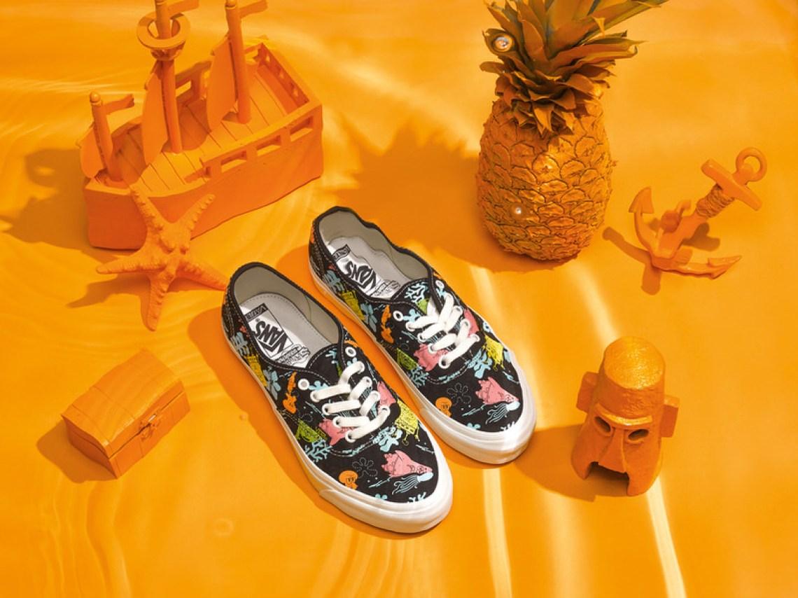 SpongeBob Squarepants x Vans Vault Classic Slip-On