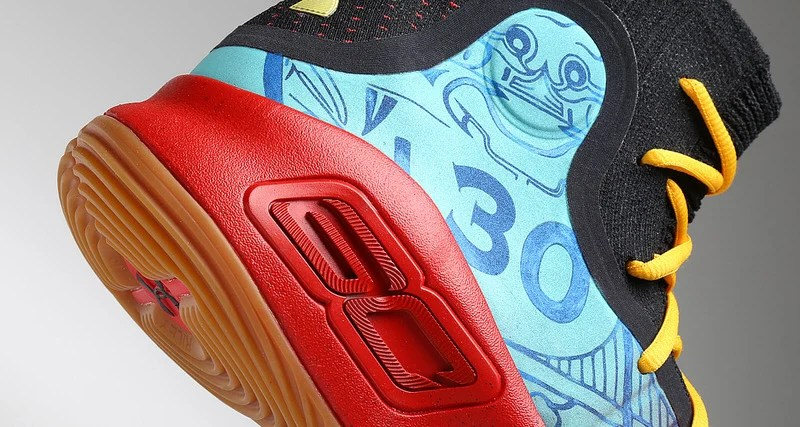 3ffee83dbdc4 Stephen Curry s Exact  Chinese New Year  Under Armour Curry 4