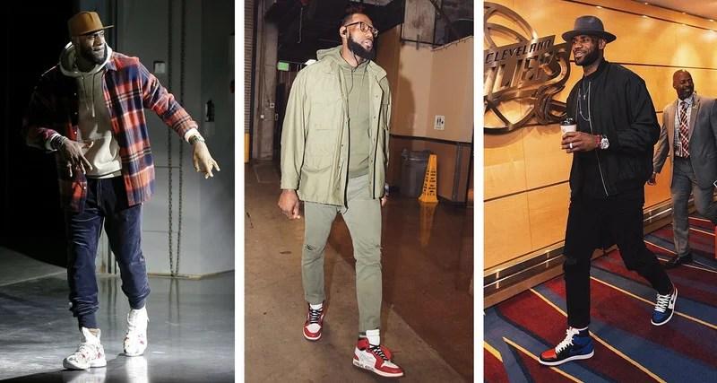 5e2c992b What's In Their Wardrobe? // LeBron James | Nice Kicks