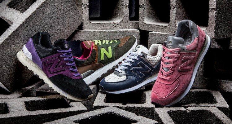 "New Balance 574 ""Iconic Collaboration"" Pack"