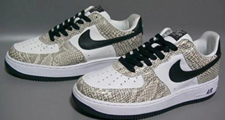 nike air force 1 low green snake texas