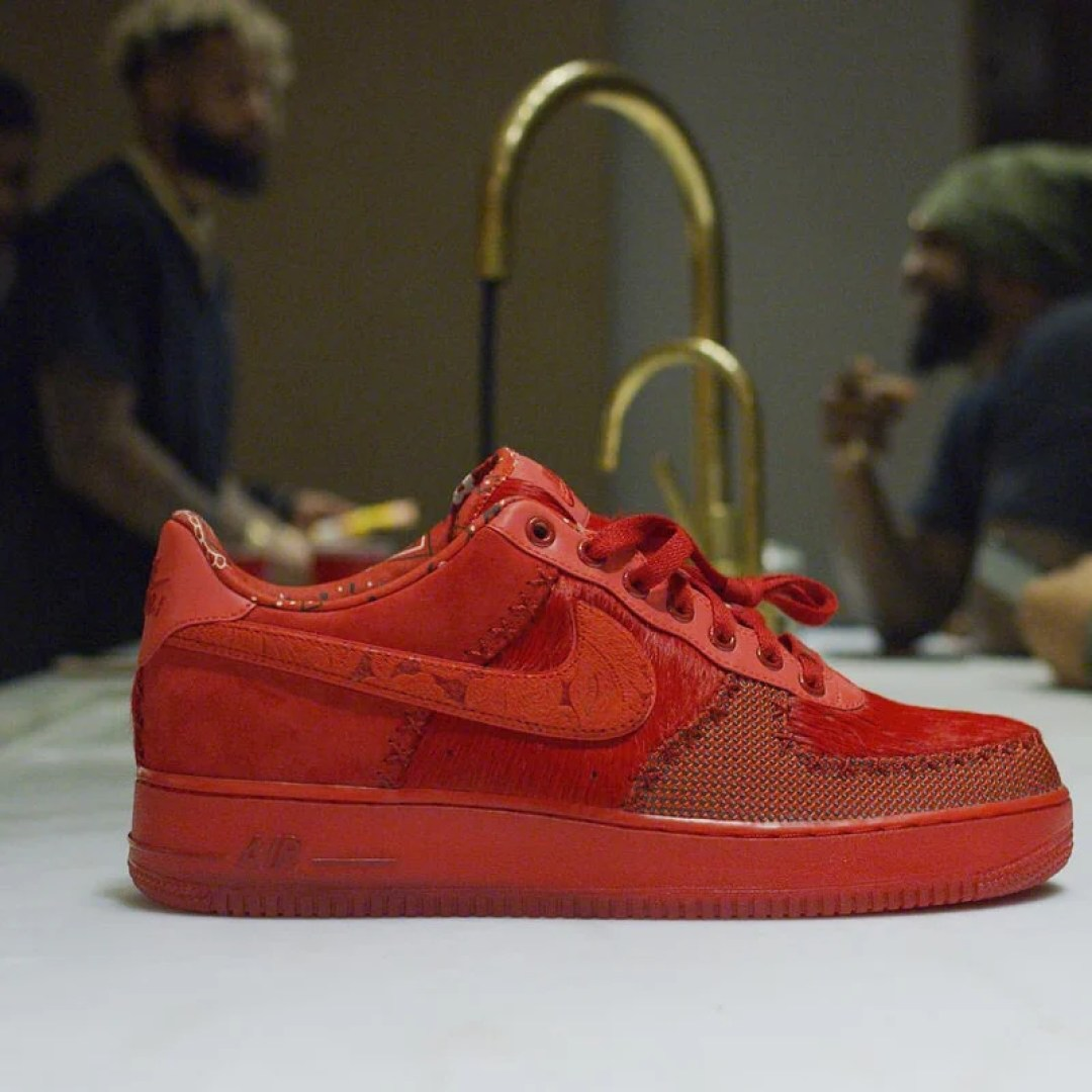 Nike Air Force 1 Odell Beckham Jr All Red Nice Kicks
