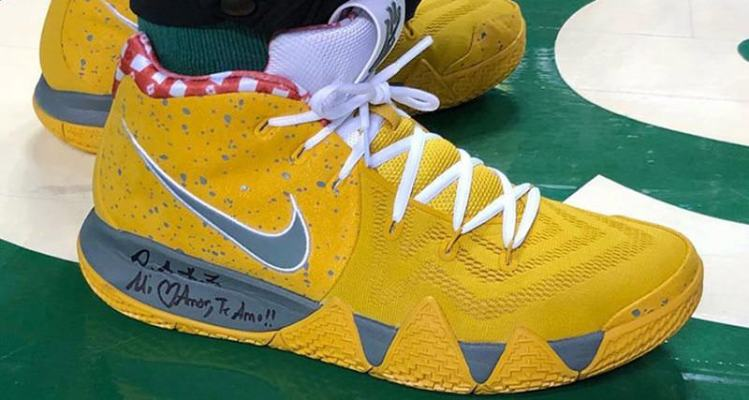 "Nike Kyrie 4 ""Yellow Lobster"""