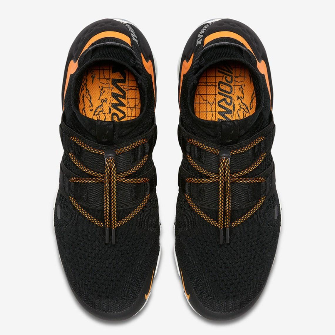 Nike Air VaporMax Utility Black/Orange Peel