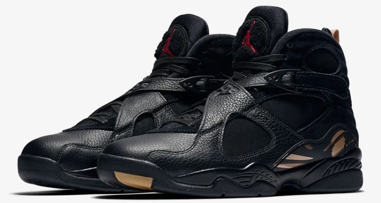"OVO x Air Jordan 8 ""Black"""