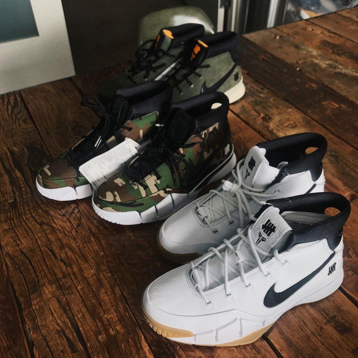 Undefeated x Nike Zoom Kobe 1 Protro