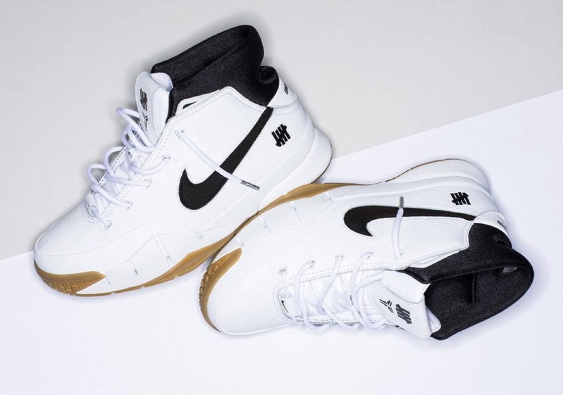 Undefeated x Nike Zoom Kobe 1 Protro White/Gum