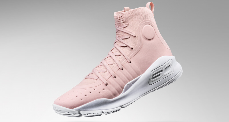 "16e58932faa2e Under Armour Curry 4 ""Flushed Pink"" is All About Love and Basketball"
