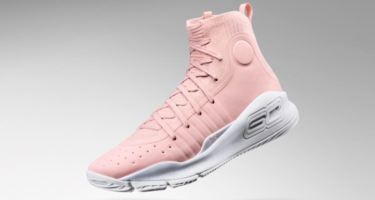 """Under Armour Curry 4 """"Flushed Pink"""""""