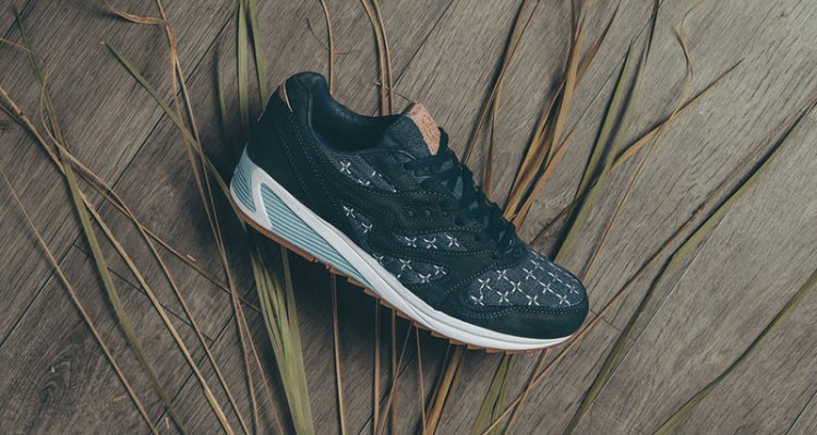 "Up There x Saucony Grid 8000 ""Sashiko"""