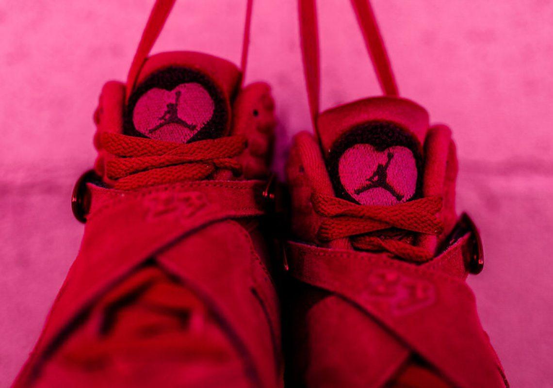 Air Jordan 8 Valentine S Day Release Date Nice Kicks