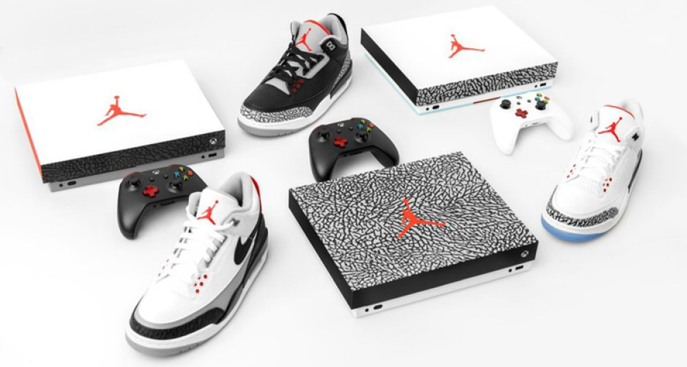 Xbox One X x Air Jordan 3