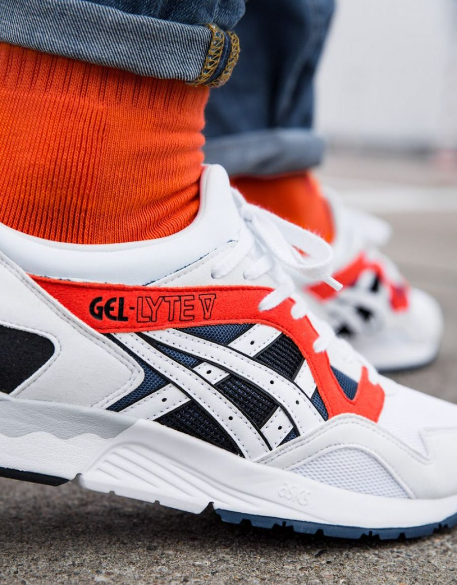 "ASICS Gel Lyte ""Sunset Orange"""