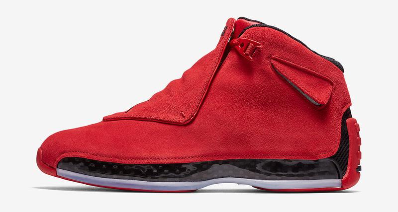 """96d2a63d86696f Air Jordan 18 """"Toro""""    Release Date"""