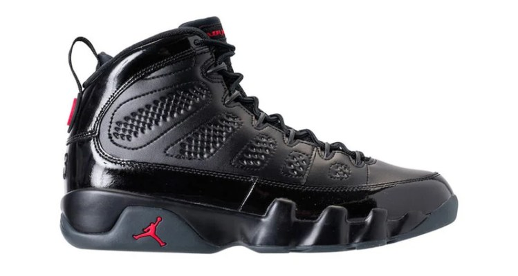 Air Jordan 9 Black/Red