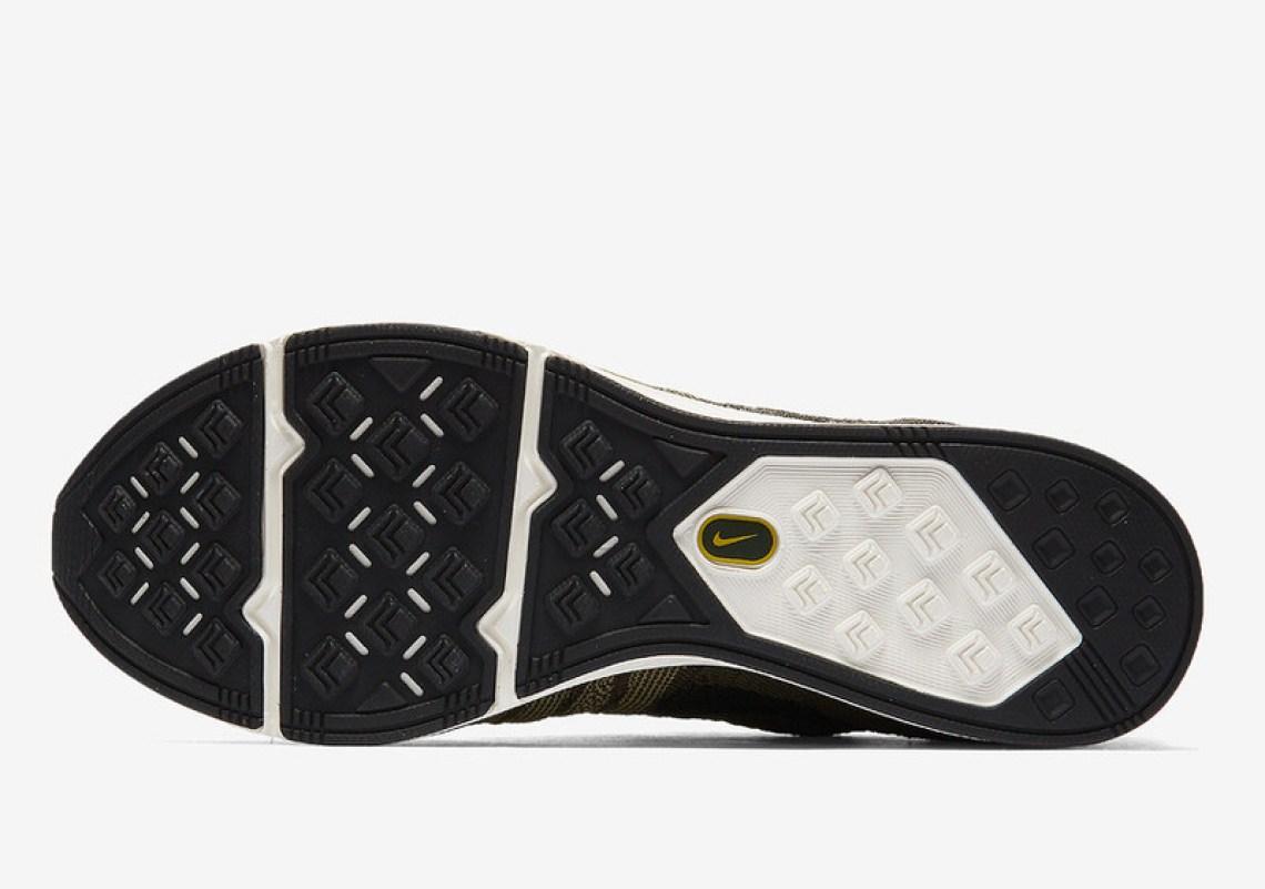 Nike Flyknit Trainer Cargo Khaki/Bright Citron