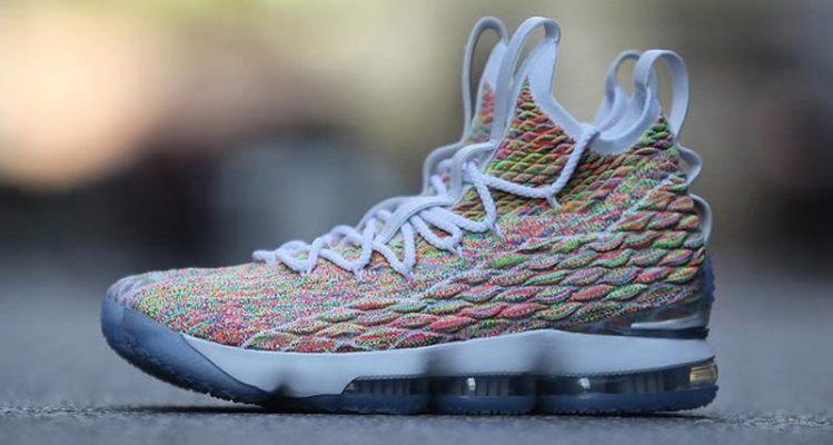 """Nike LeBron 15 """"Fruity Pebbles"""""""