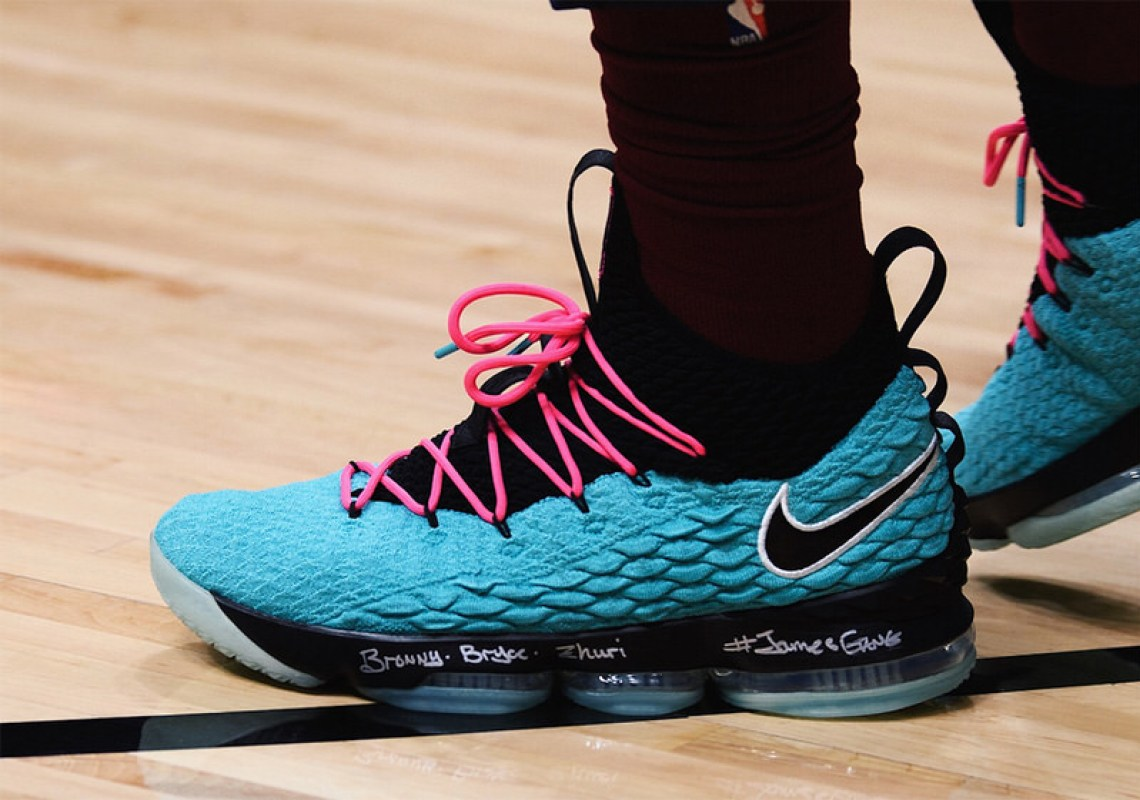 "Nike LeBron 15 ""South Beach"""