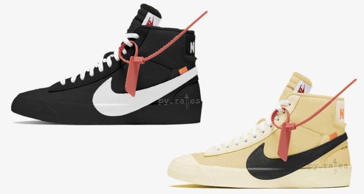 OFF WHITE x Nike Blazer