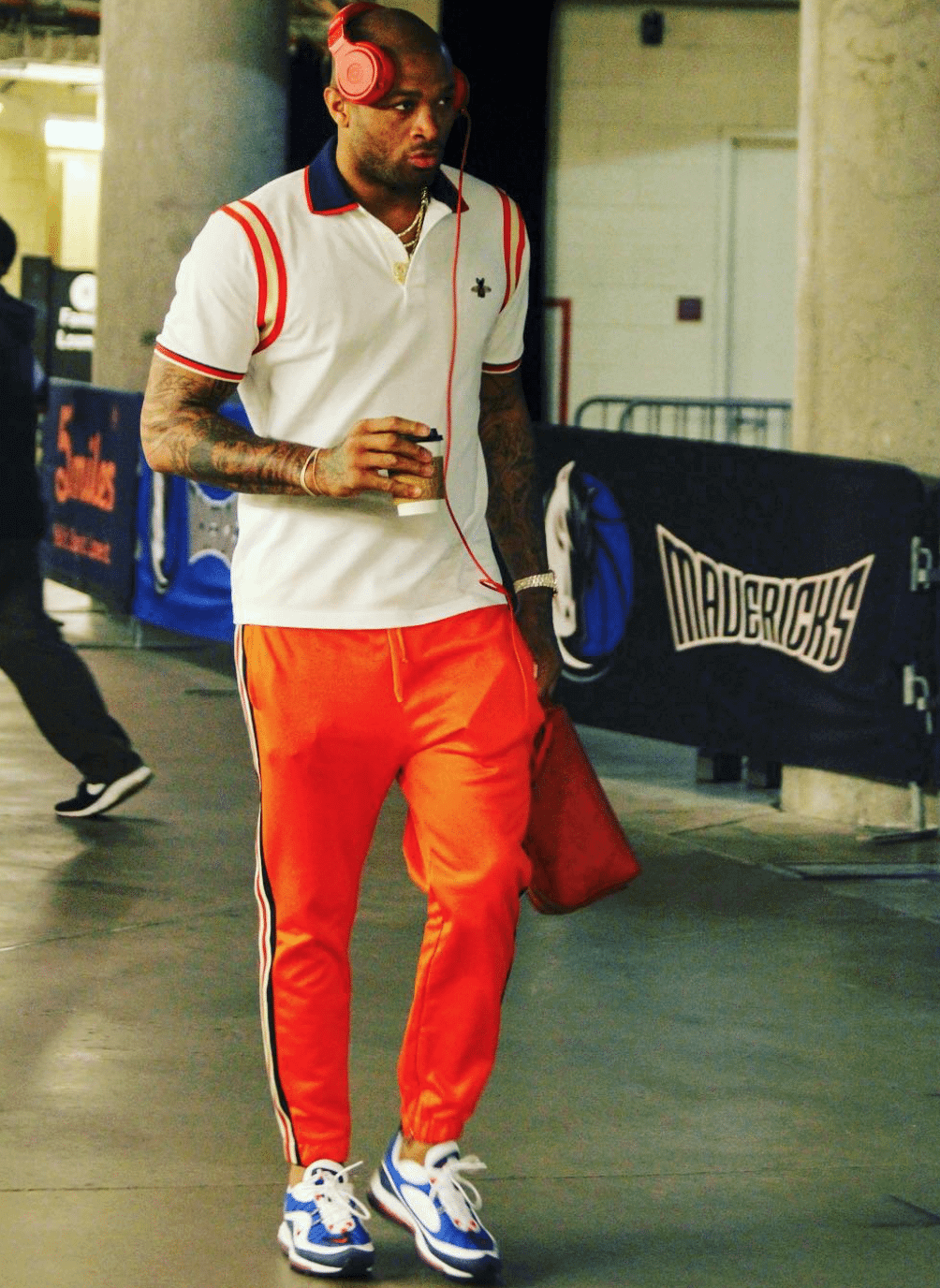 "P.J. Tucker in the Nike Air Max 98 ""Gundam"""