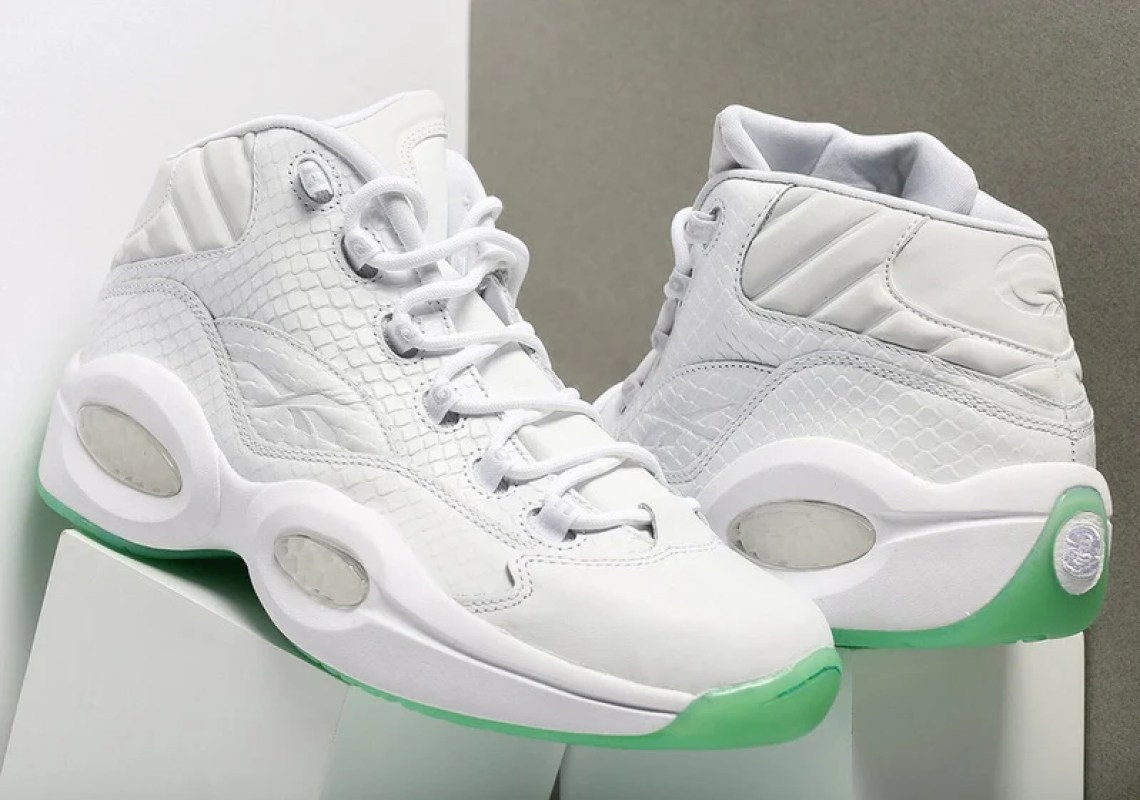 Reebok Question Mid White/Mint