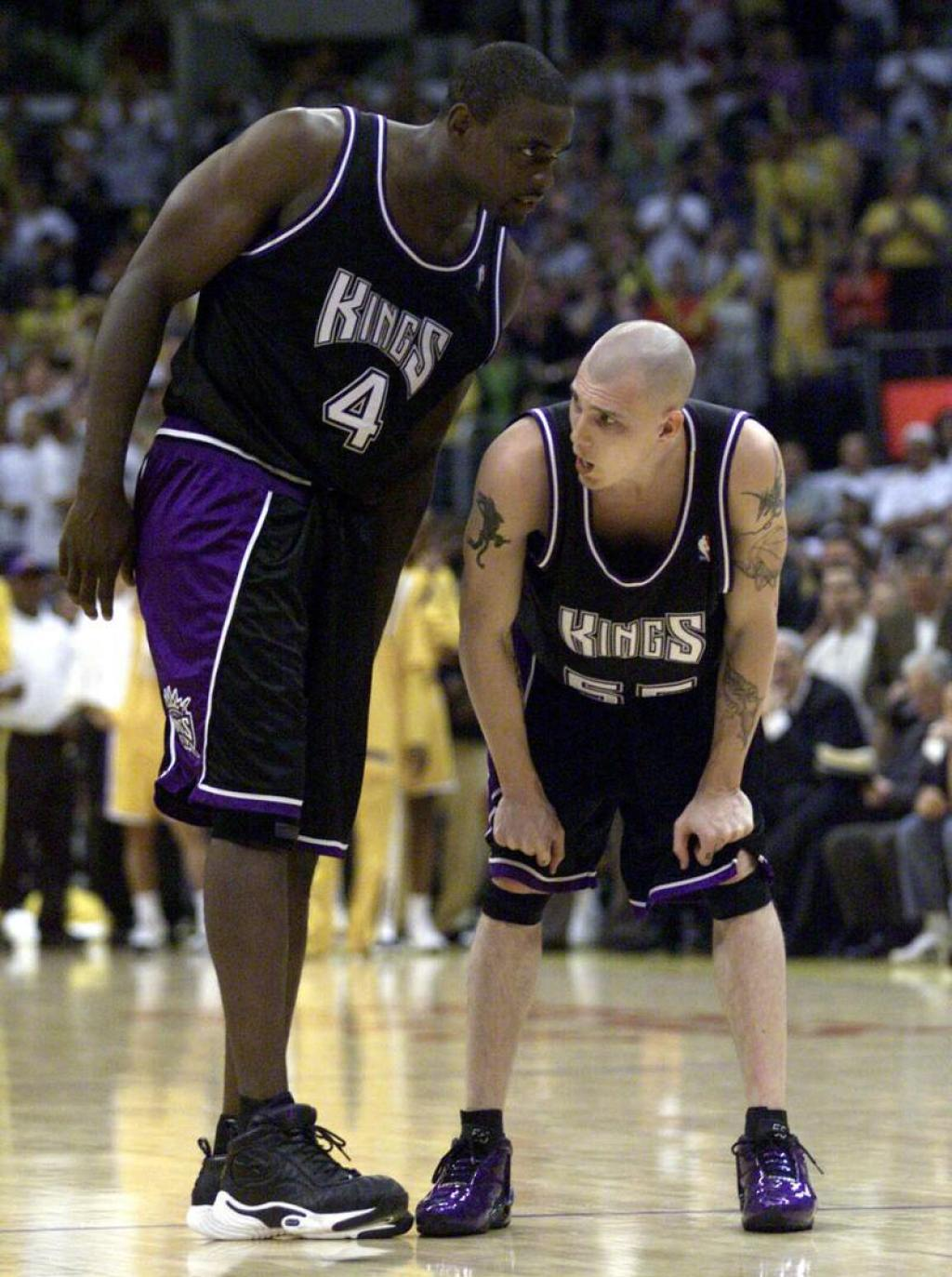 2198e0697a78 Wear your pair of purple Hyperflights and throwback Kings shorts and pass  the ball like JWill. What else do I gotta show ya