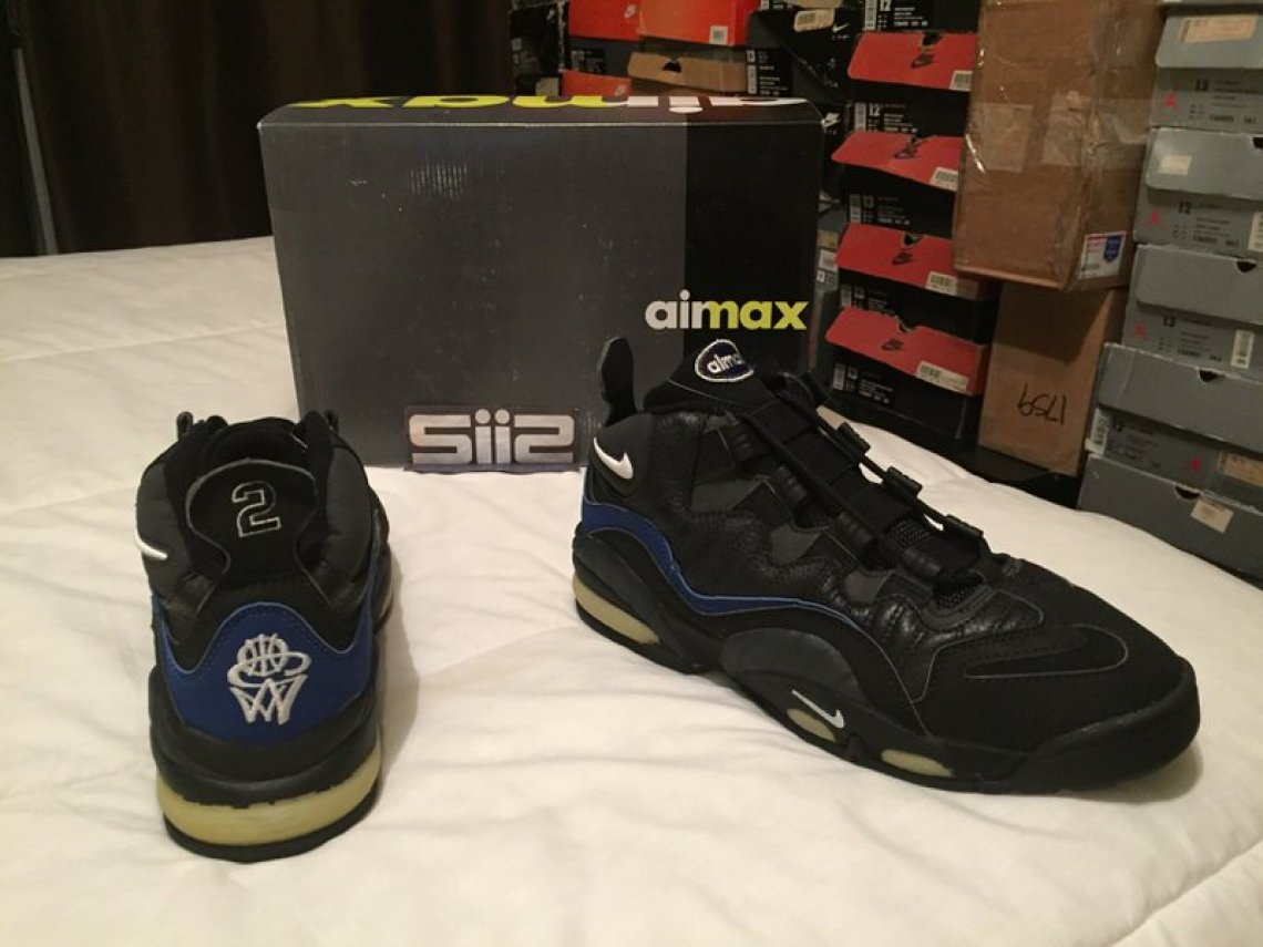hot sale online a705a 354ac The 1995 Nike Air Max CW  Air Max box, CW and   2 logos included. Blown  timeouts, torn ligaments, and dates with Tyra Banks are not.